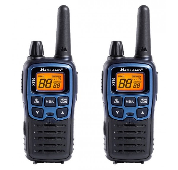 MIDLAND XT60 WALKIE TALKIES