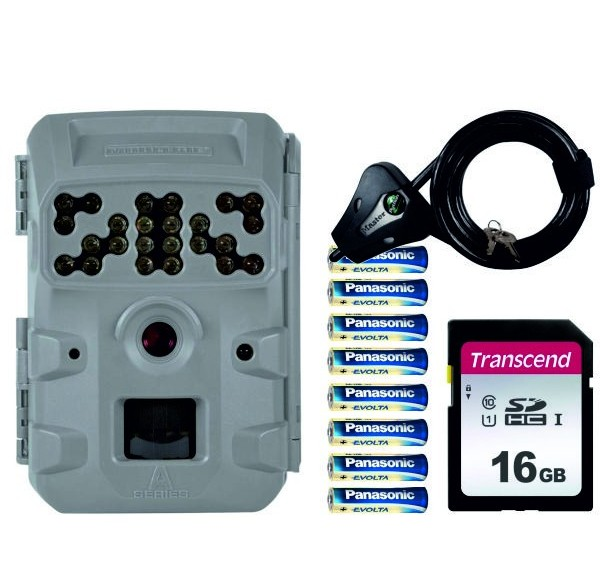 PACK MOULTRIE A300i + SD 16GB + 8 PILAS + CANDADO