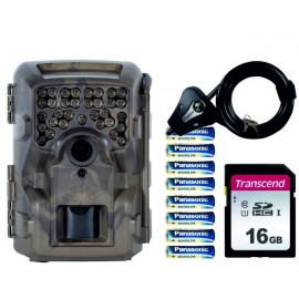 PACK MOULTRIE M4000i + SD 16GB + 8 PILAS + CANDADO