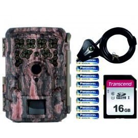 PACK MOULTRIE M8000i + SD 16GB + 8 PILAS + CANDADO