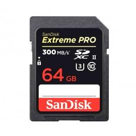 TARJETA EXTREME PRO 64GB 300MB/S SANDISK