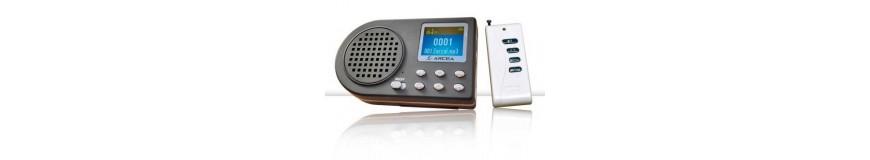 Grabadoras y micrófonos